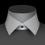 Un col italien de chemise pour homme
