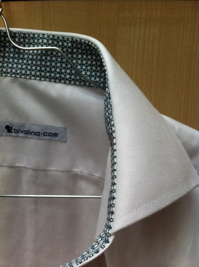 chemises sur mesure bivolino mon avis chemise sur mesure shopping une chemise le blog. Black Bedroom Furniture Sets. Home Design Ideas
