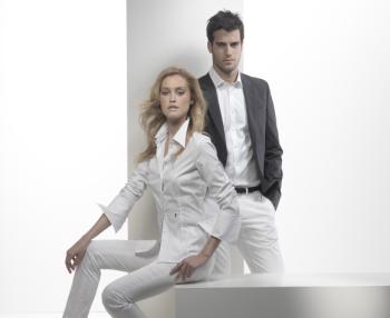 Couple en chemise