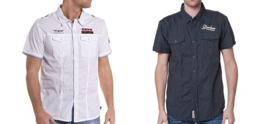 Les chemises à manches courtes chez BLZjeans